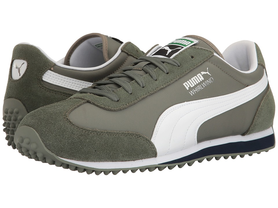 PUMA - Whirlwind Classic (Agave Green/Puma White) Men's Lace up casual Shoes