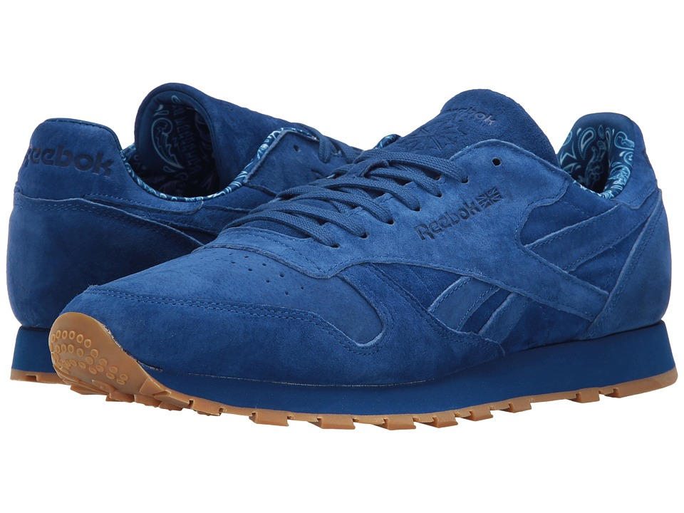 Reebok Lifestyle - Classic Leather TDC (Collegiate Royal/White/Gum) Men's Shoes