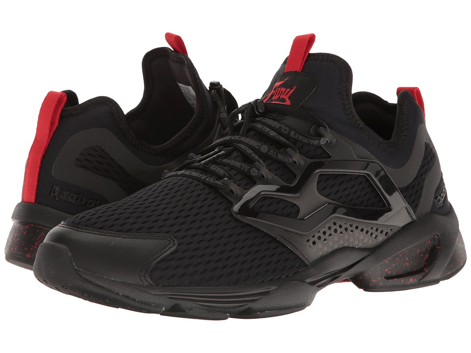 Reebok Lifestyle - Fury Adapt AC (Black/Primal Red) Men's Shoes