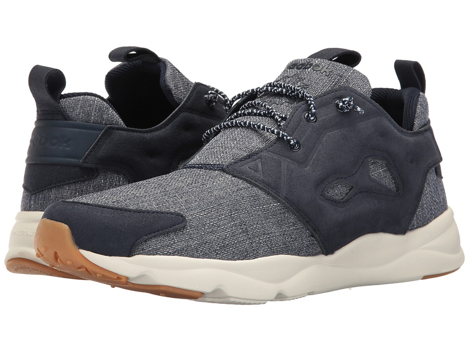 Reebok Lifestyle - Furylite Refine (Collegiate Navy/Chalk/Gum) Men's Shoes