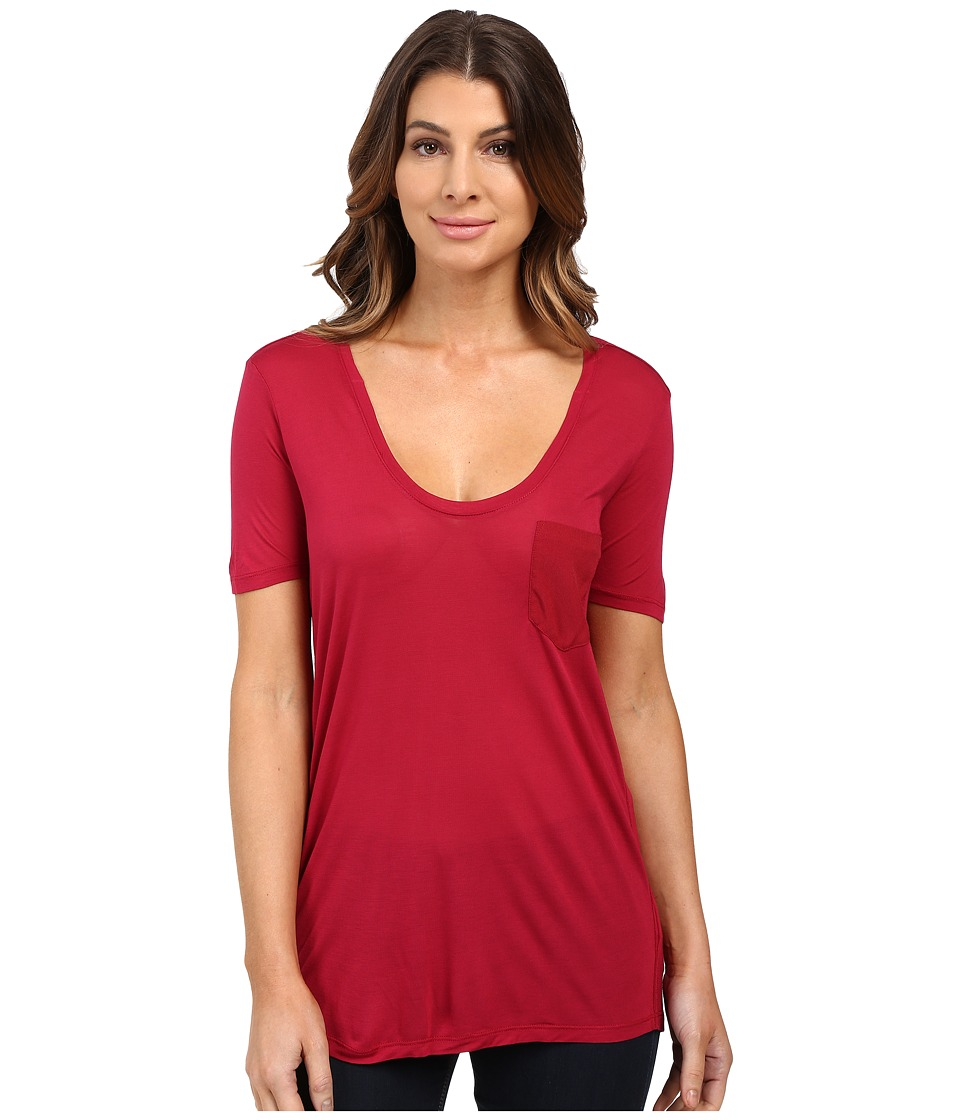 G-Star - Adisyon Woven Pocket Straight (Tana Red) Women's Clothing
