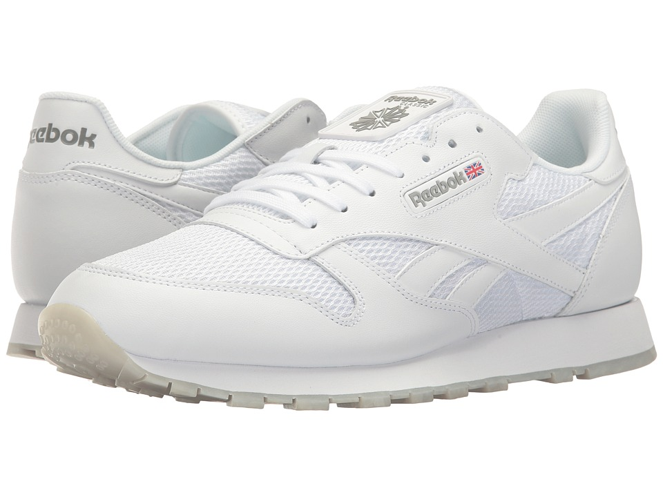 Reebok Lifestyle - Classic Leather NM (White/Snowy Grey/Carbon/Gum) Men's Shoes