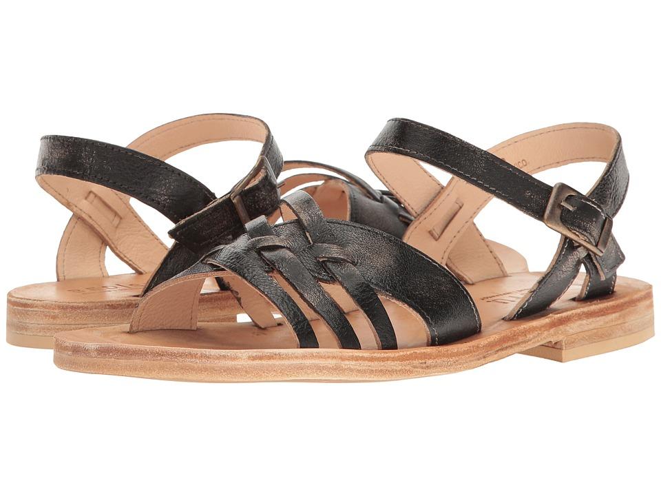 Bed Stu - Senado (Black Handwash) Women's Shoes