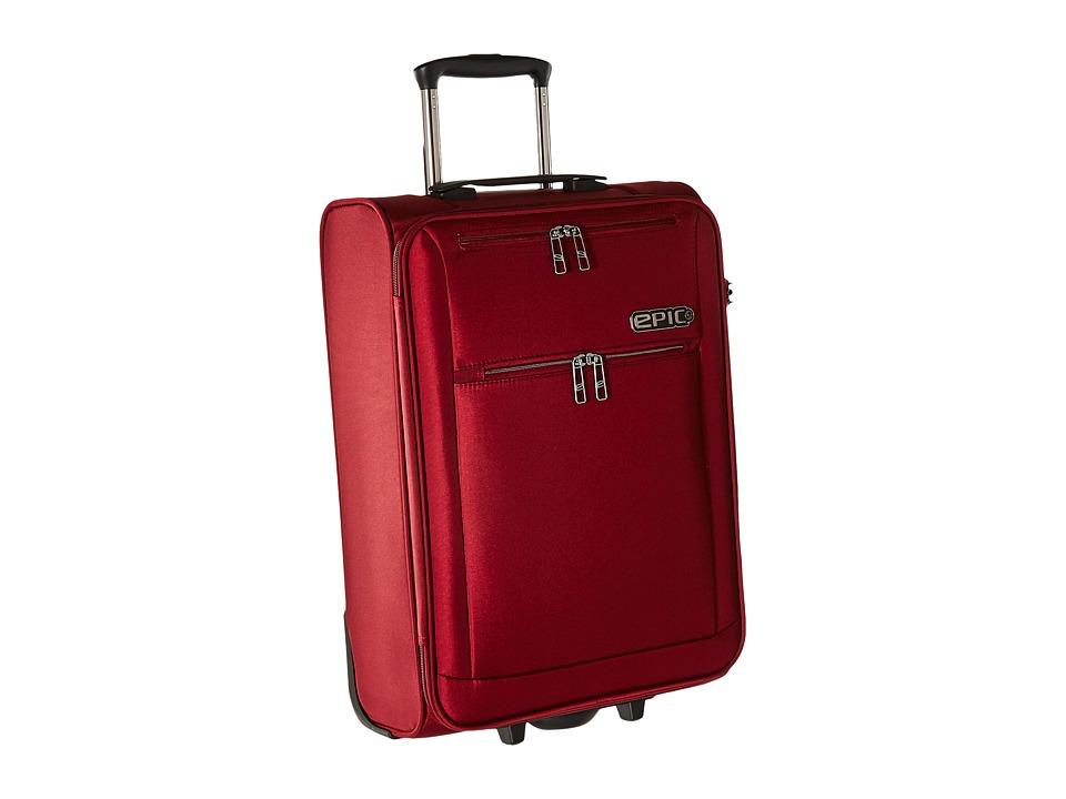 EPIC Travelgear - Milligram 22 Trolley (Red) Luggage