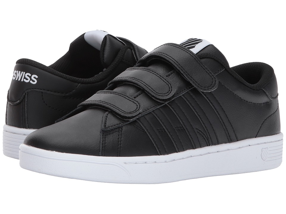 K-Swiss - Hoke 3-Strap CMF (Black/White) Women's Shoes