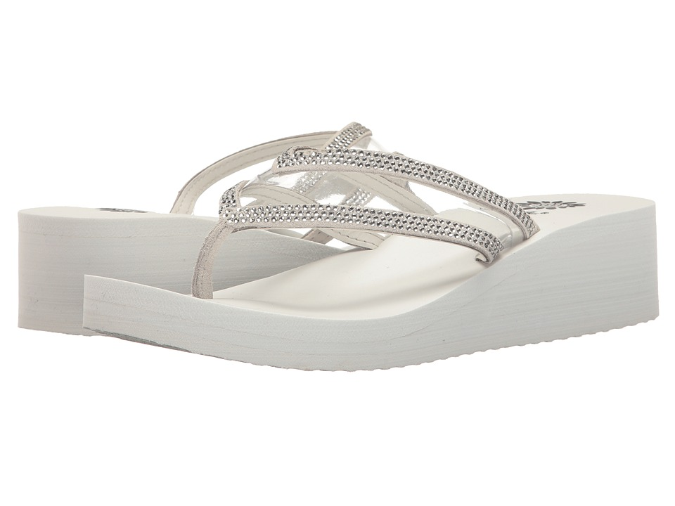 Yellow Box - Loralee (White) Women's Sandals