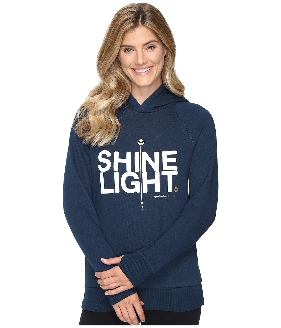 Spiritual Gangster - Shine Light Arrow Pullover (Juniper) Women's Sweatshirt