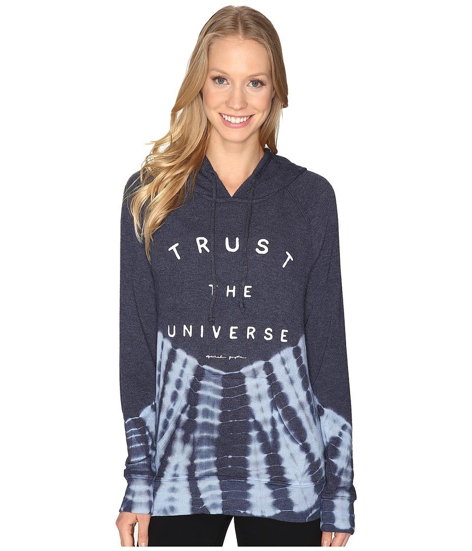 Spiritual Gangster - Trust the Universe (Isle Tie-Dye) Women's Sweatshirt