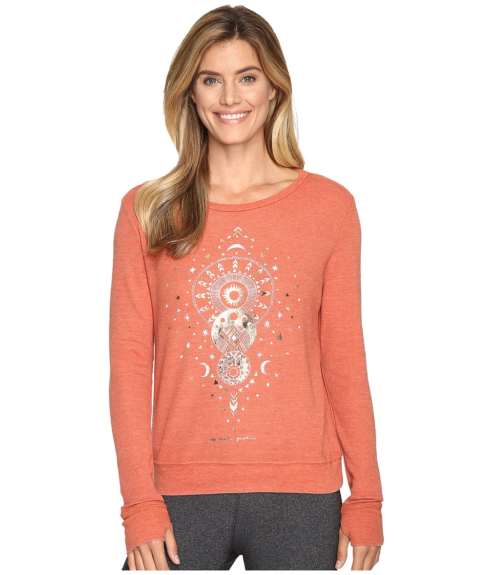 Spiritual Gangster - Mystical Moon (Clove) Women's Sweatshirt