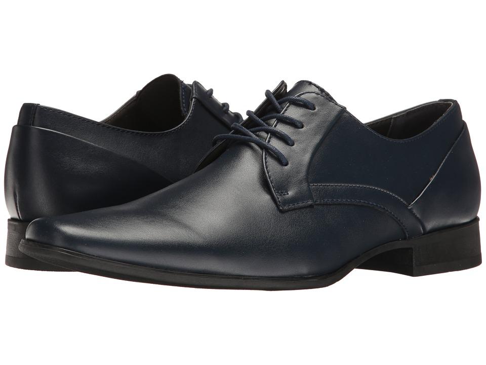 Calvin Klein - Benton (Navy Smooth) Men's Shoes