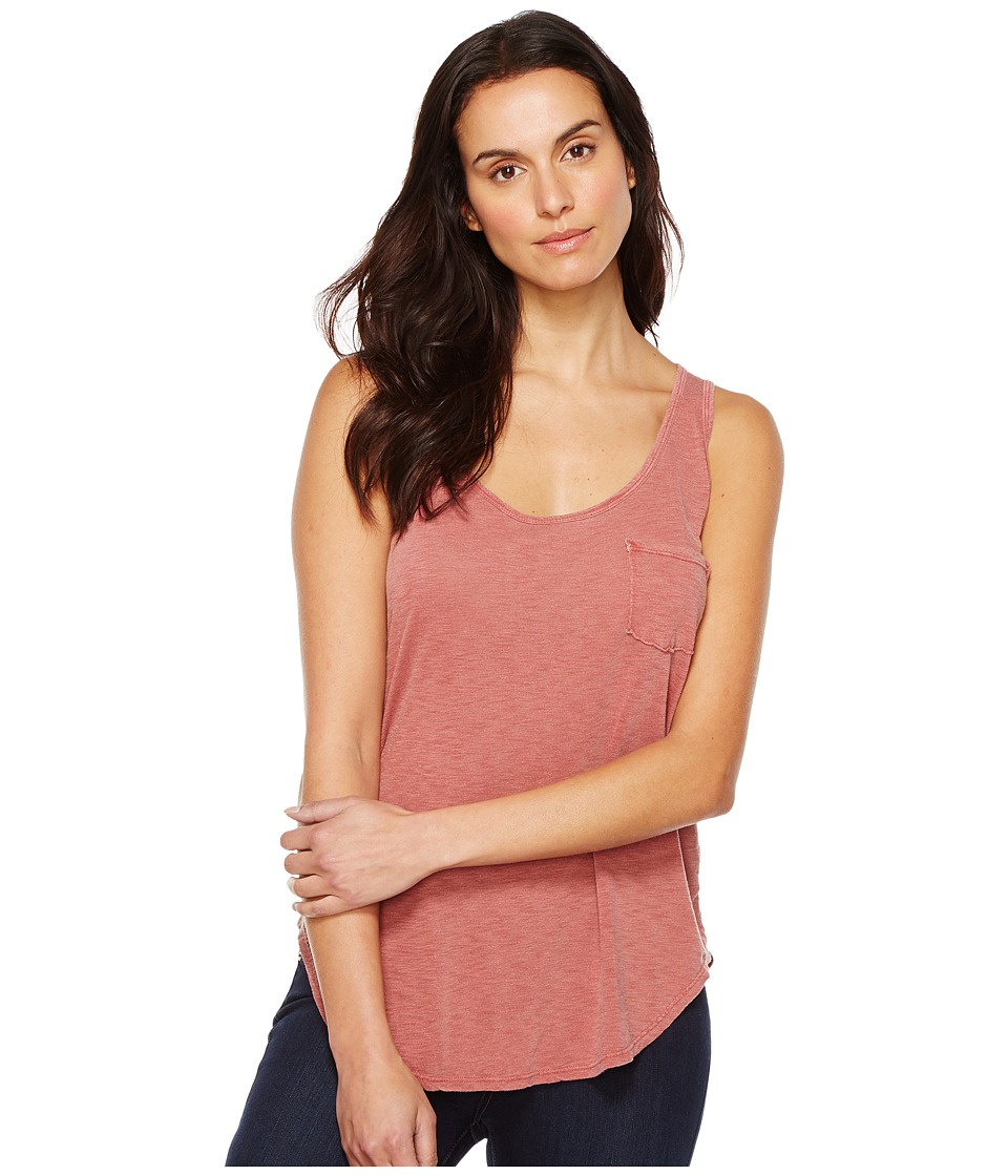 LAmade - Boyfriend Tank w/ Pocket (Bossa Nova) Women's Sleeveless