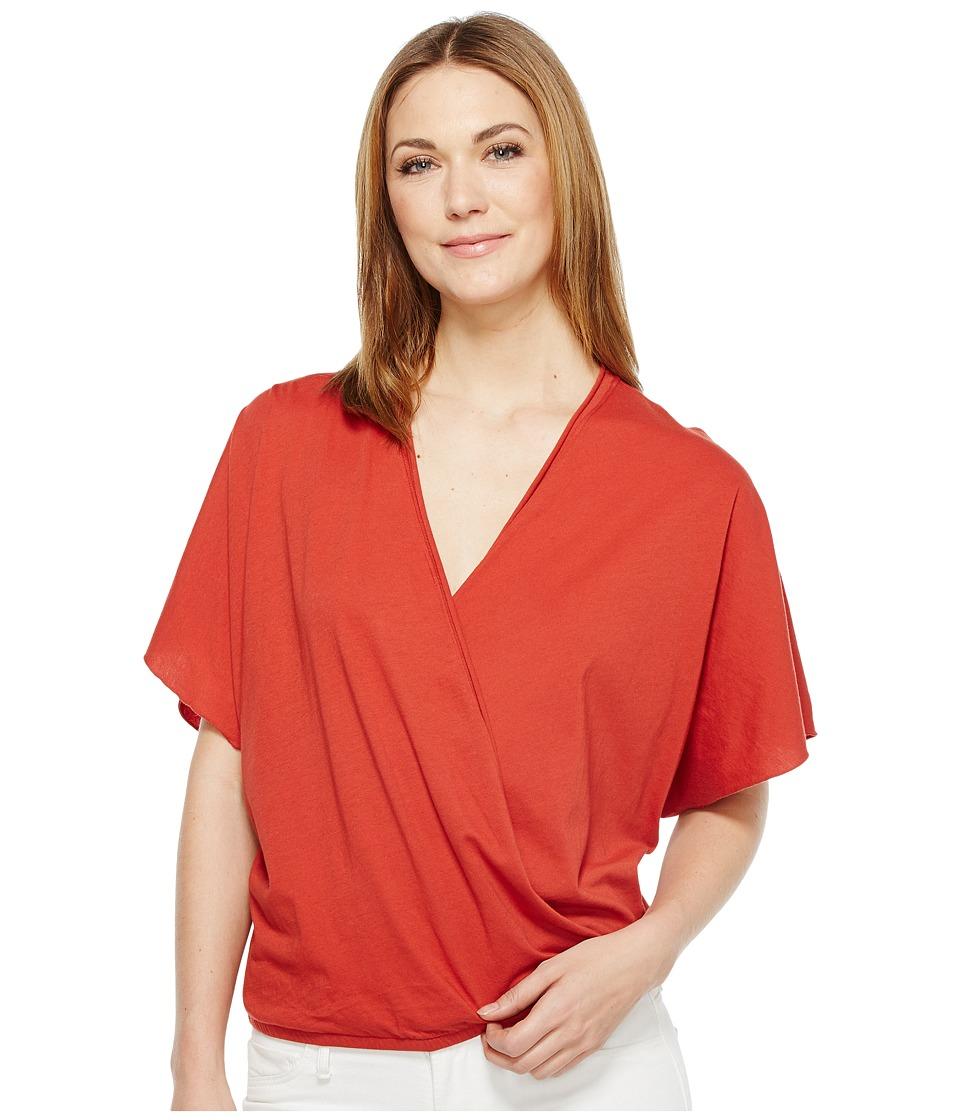 LAmade - Ines V-Neck Crossover Top (Bossa Nova) Women's Clothing