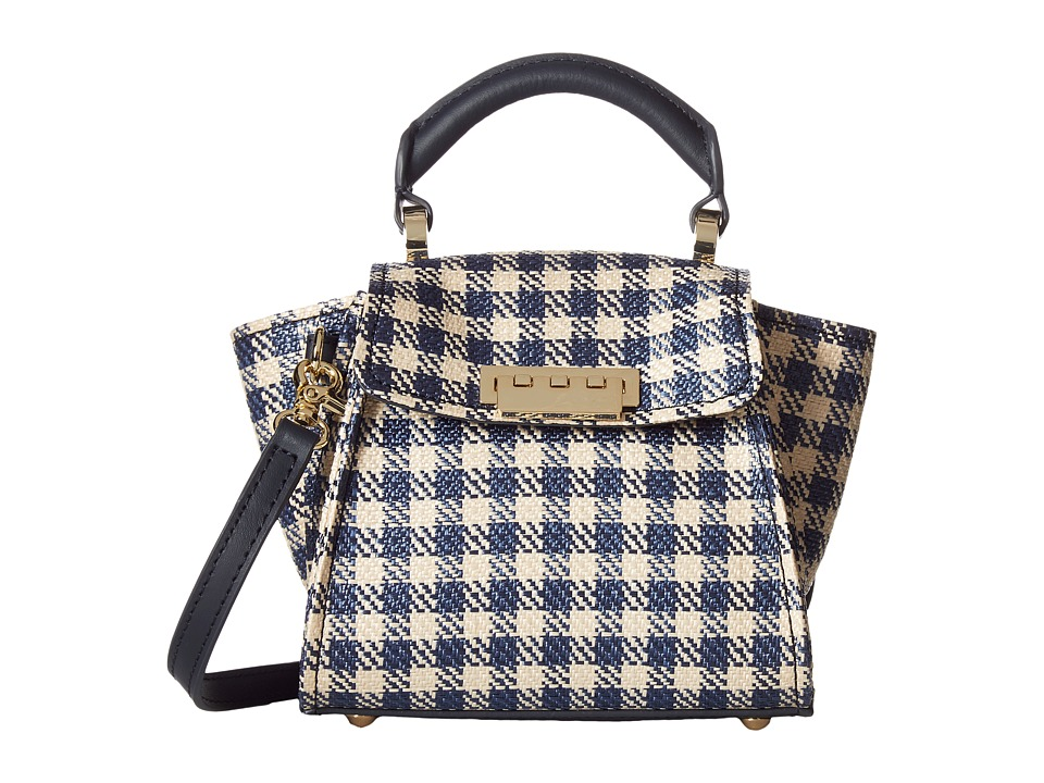 ZAC Zac Posen - Eartha Iconic Top-Handle Mini (Navy) Top-handle Handbags