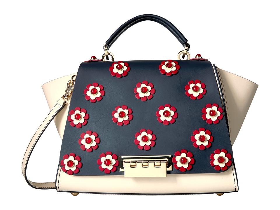 ZAC Zac Posen - Eartha Iconic Soft Top-Handle (Sand Dollar) Top-handle Handbags