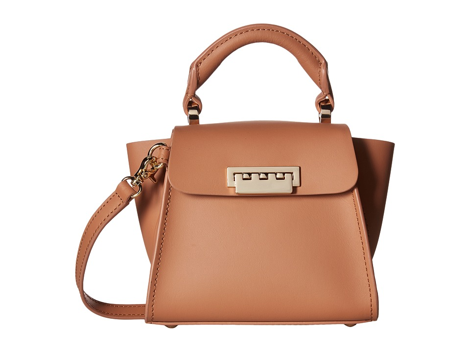 ZAC Zac Posen - Eartha Iconic Top-Handle Mini (Ginger) Top-handle Handbags