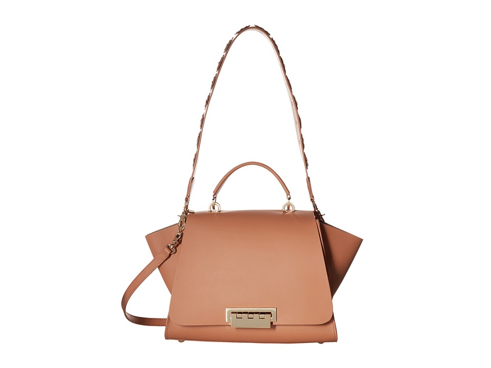 ZAC Zac Posen - Eartha Iconic Soft Top-Handle (Ginger) Top-handle Handbags