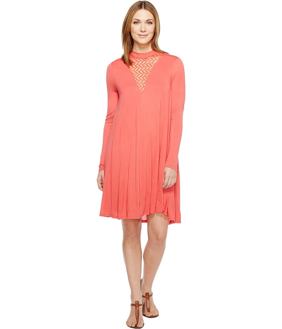 LAmade - Paula Dress (Coral) Women's Dress