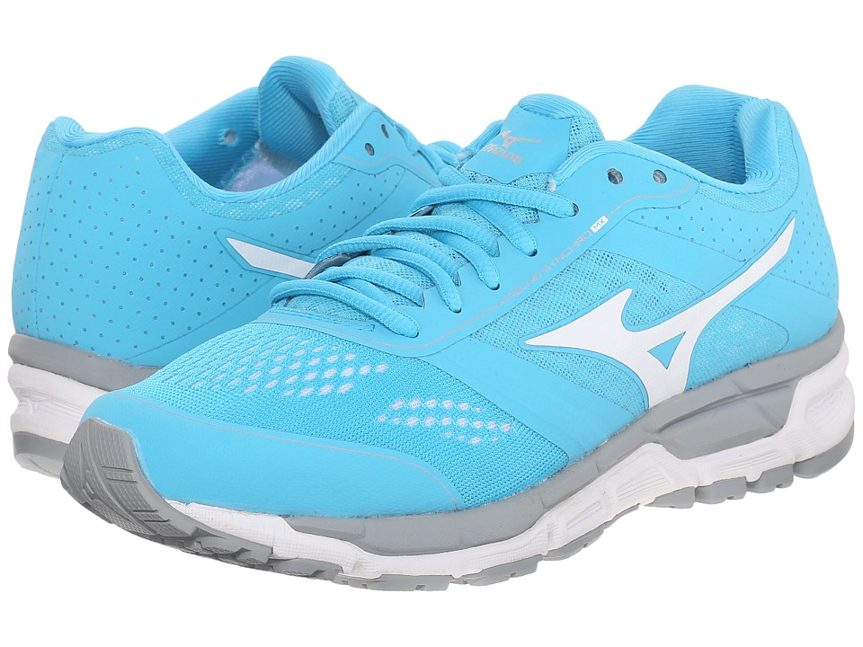 Mizuno - Synchro MX (Blue Atoll/White) Women's Shoes