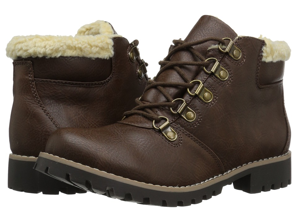 White Mountain - Peekaboo (Brown) Women's Shoes