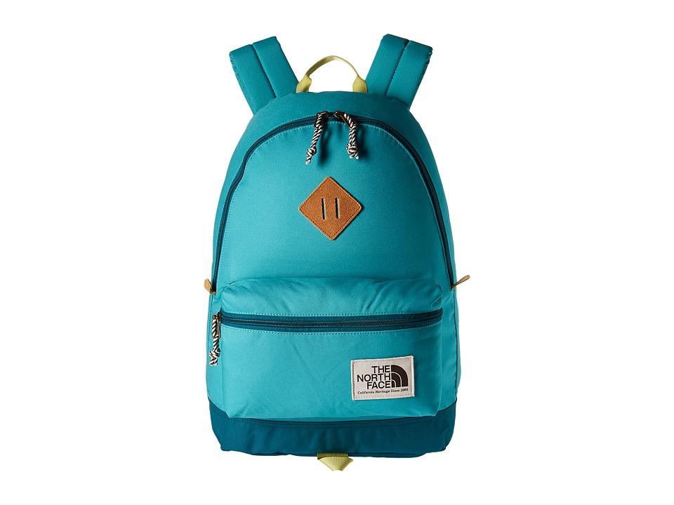 The North Face Berkeley Backpack (Vistula Blue/Linden Green) Backpack Bags