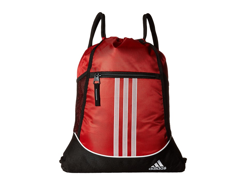 adidas - Alliance II Sackpack (Scarlet) Bags