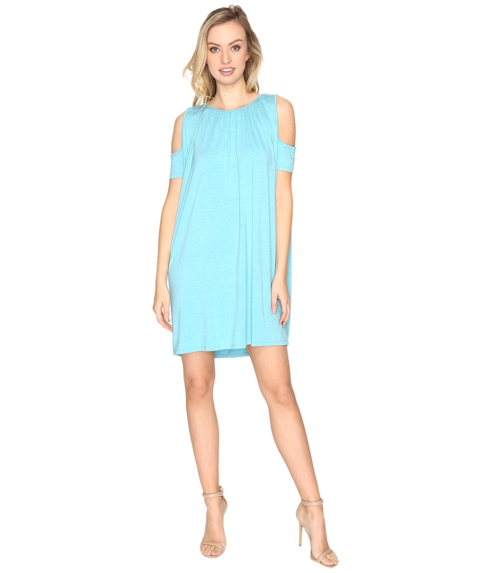 Susana Monaco Ida Dress (Tahitian Blue) Women