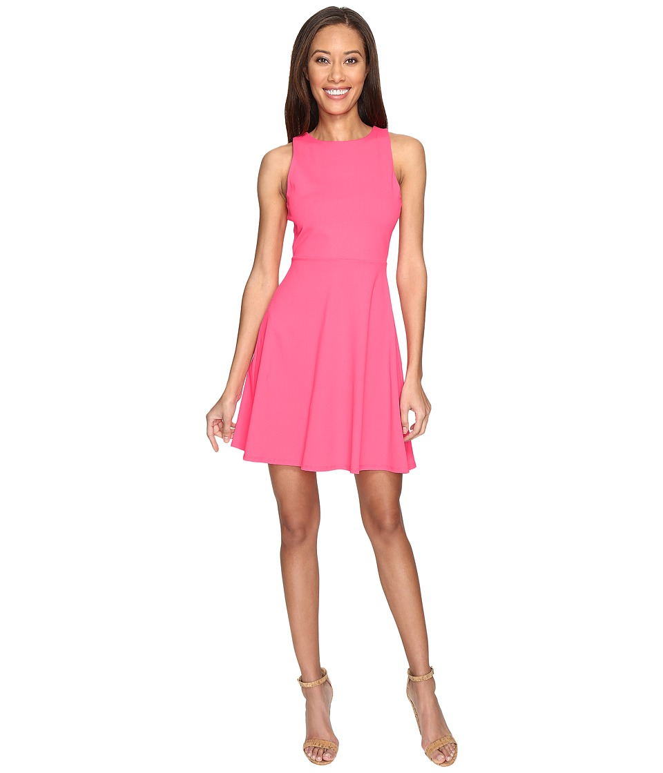 Susana Monaco Ninna Dress (Pop Pink) Women