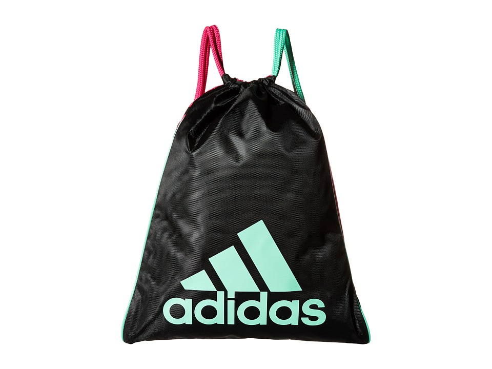 adidas - Burst Sackpack (Black/Shock Pink/Green Glow) Bags