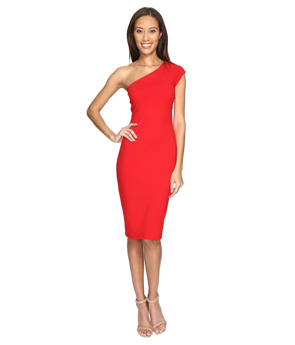 Susana Monaco Shaunie Dress (Perfect Red) Women