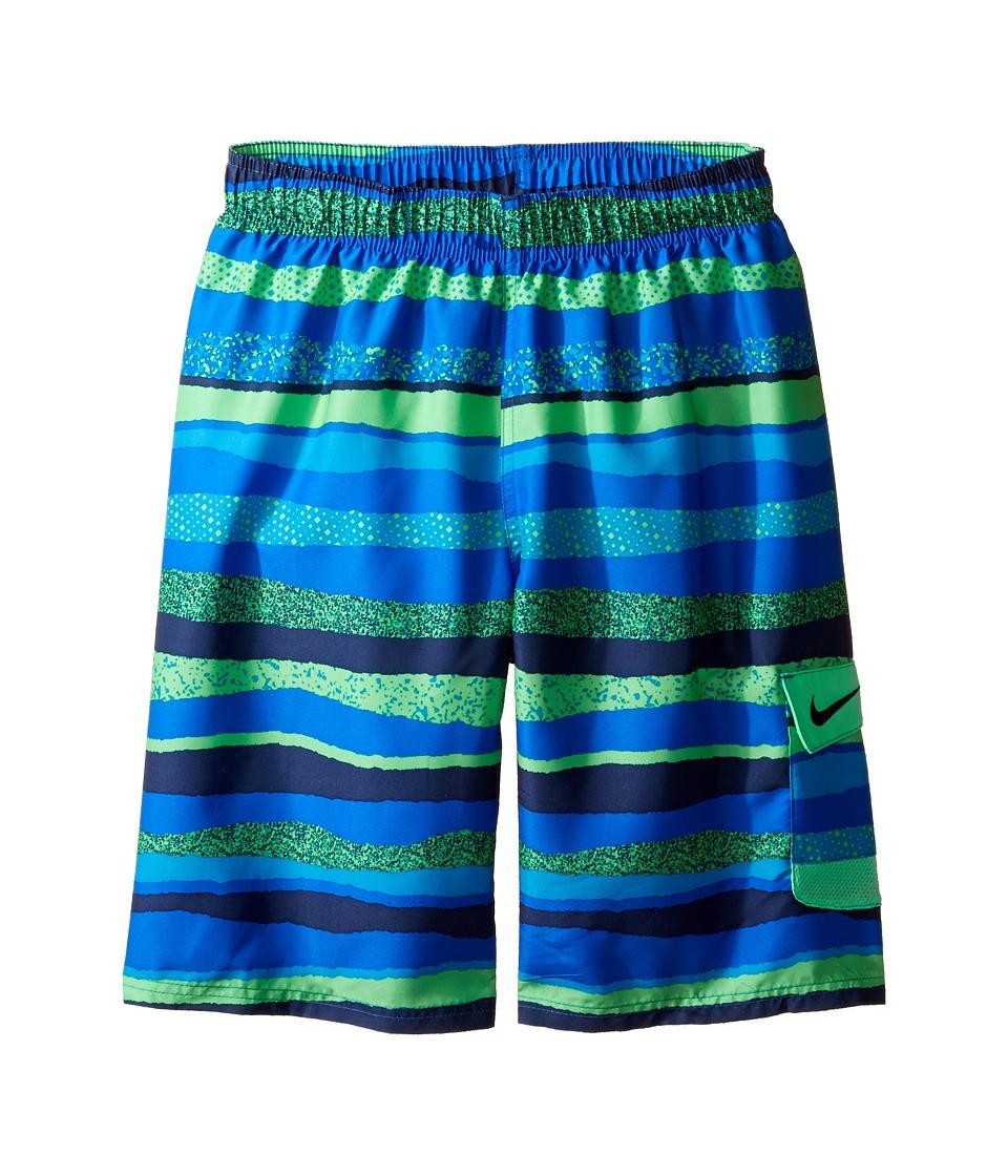 Nike Kids Tide 9 Volley Shorts (Big Kids) (Hyper Cobalt) Boy