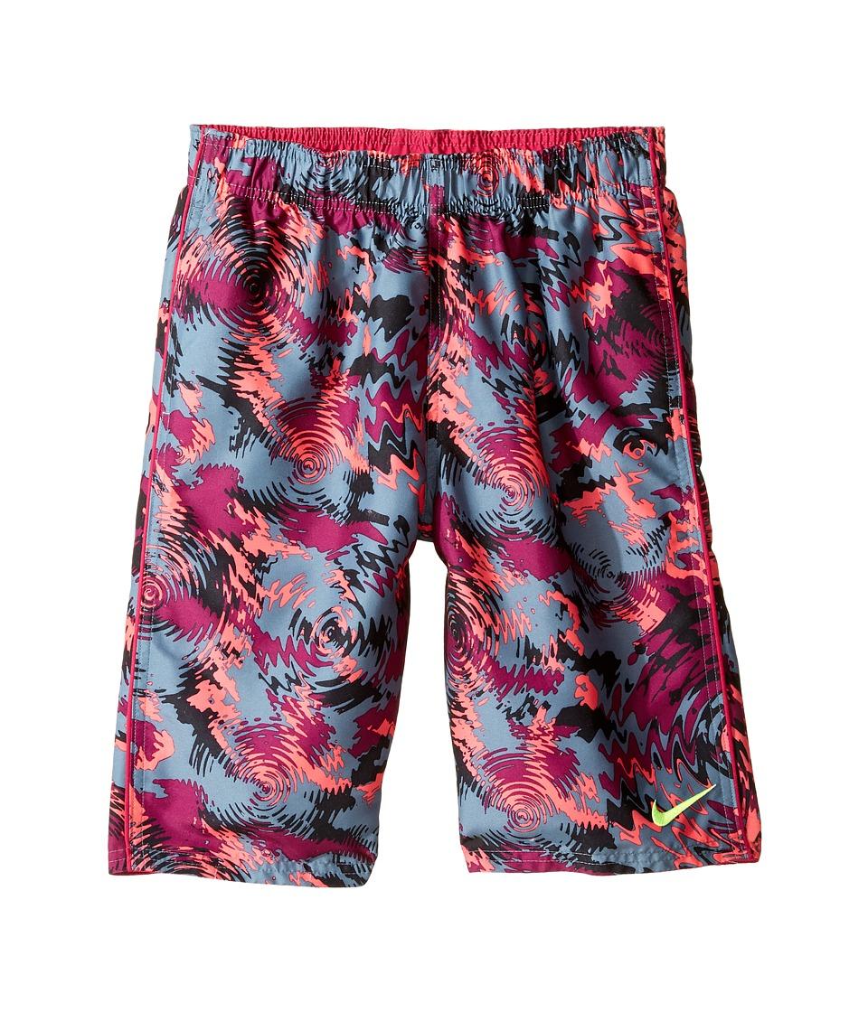 Nike Kids Watercamo 9 Trunk (Big Kids) (True Berry) Boy