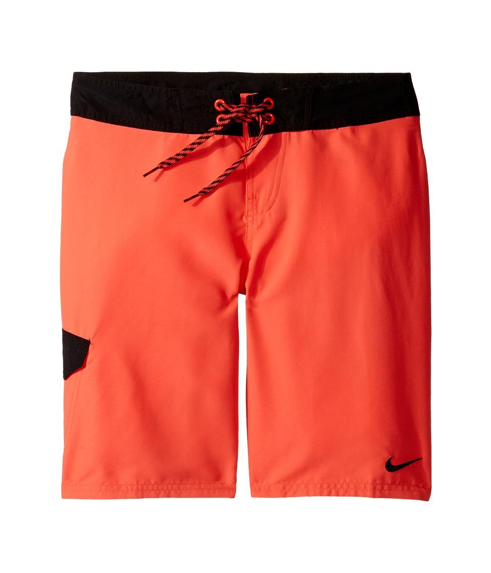 Nike Kids Core Solid 9 Boardshort (Big Kids) (Bright Crimson) Boy