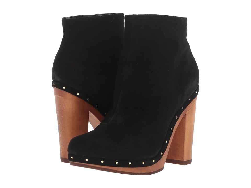 Joie - Dewitt (Black Calf Suede) Women's Dress Boots