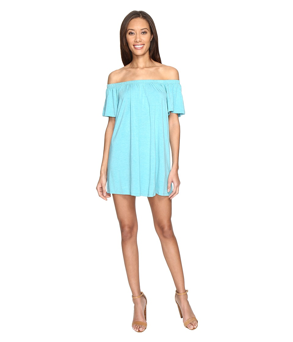 Susana Monaco Hadid Dress (Tahitian Blue) Women