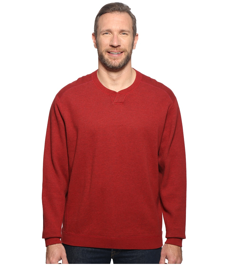 Tommy Bahama Big & Tall - Big Tall New Flip Side Pro Reversible Abaco (Ruby Red Heather) Men's Clothing