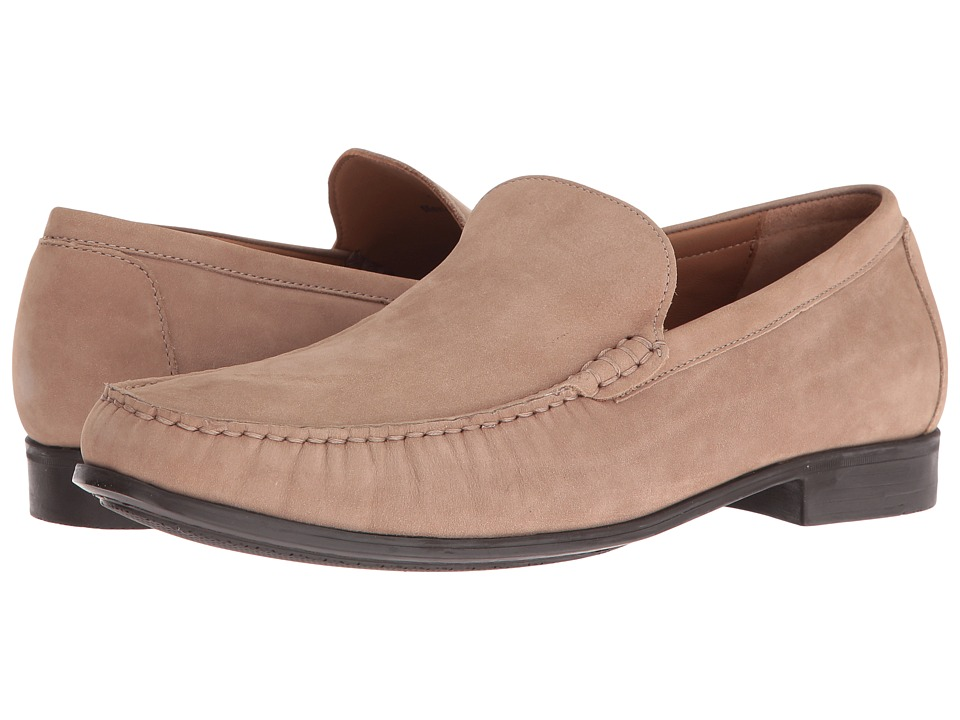 Johnston  Murphy Cresswell Venetian Sand Nubuck Mens Slip on Shoes