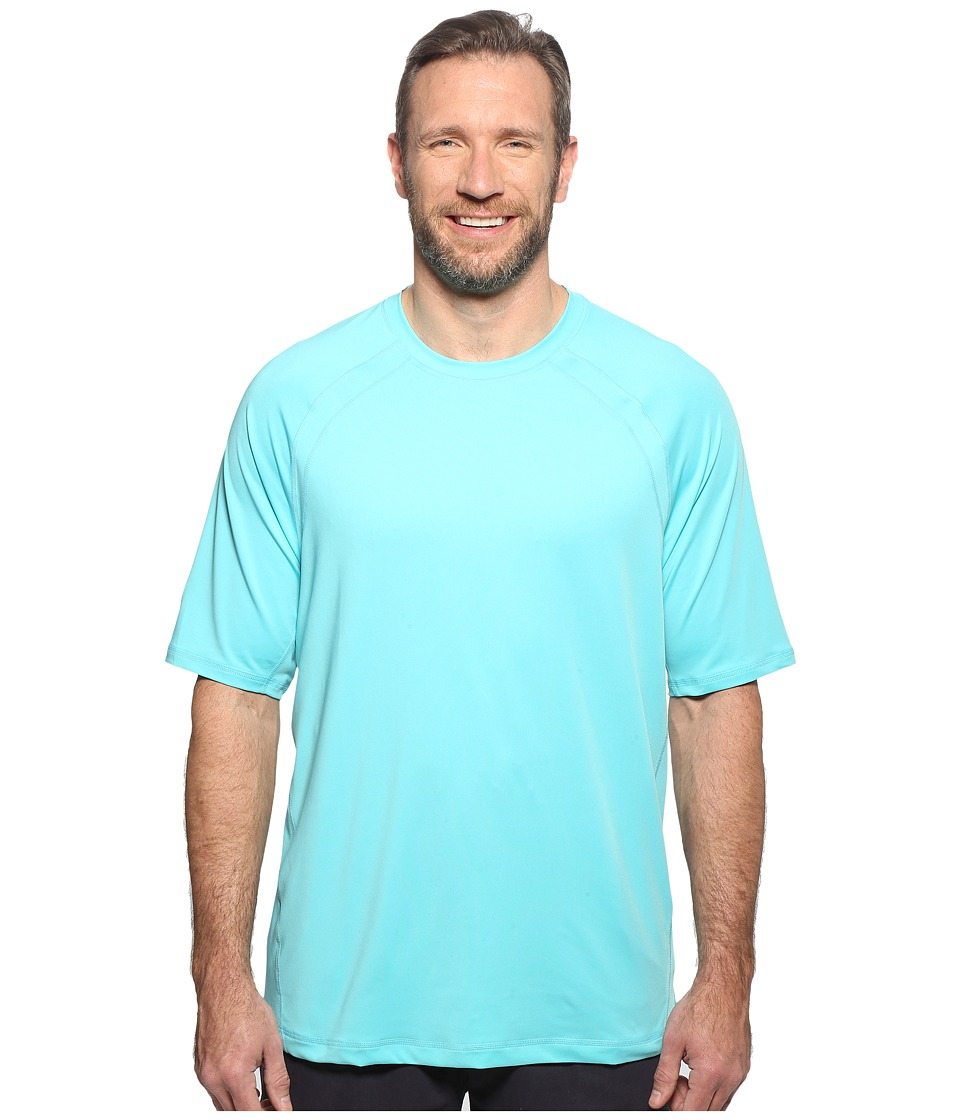 Tommy Bahama Big & Tall - Big Tall Surf Chaser Short Sleeve Crew (Blue Radiance) Men's T Shirt