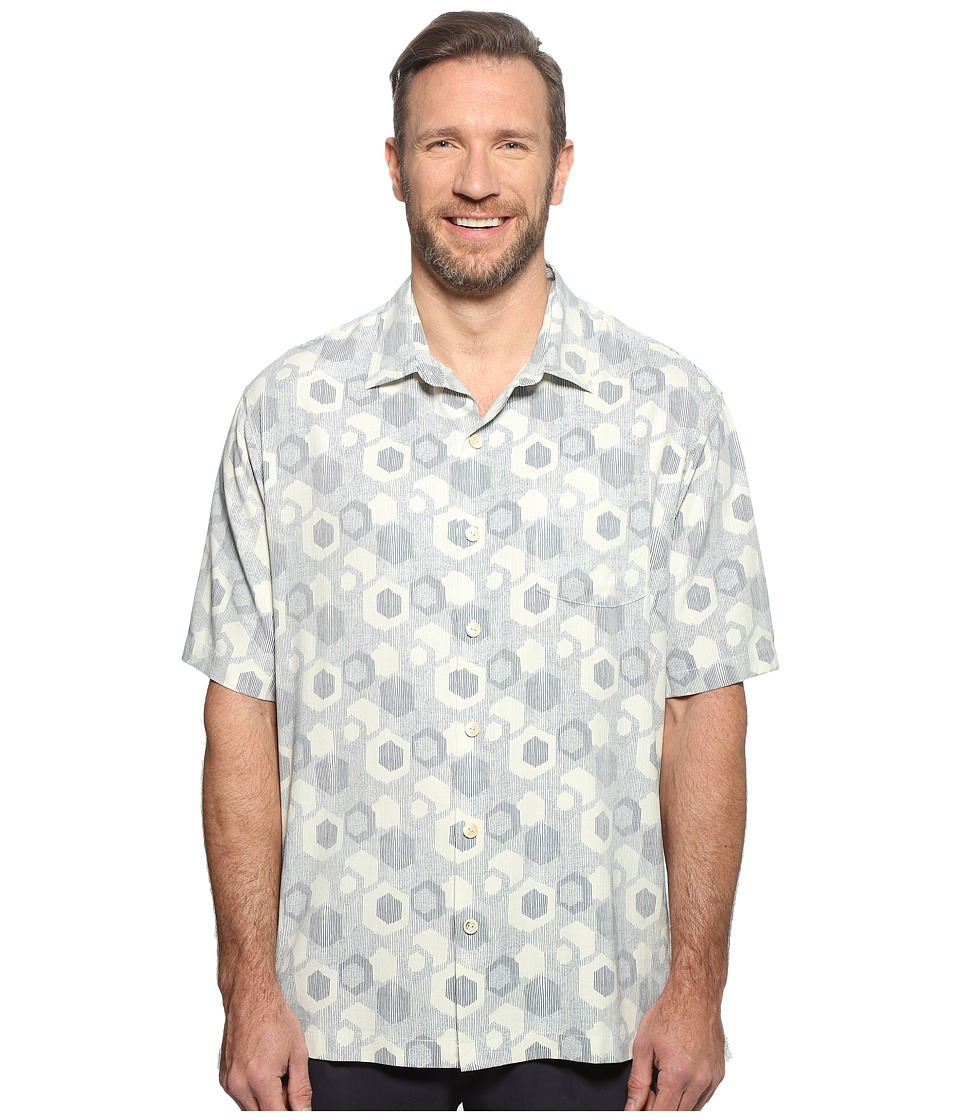 Tommy Bahama Big & Tall - Big Tall Tiles Davis (Marble Cream) Men's Clothing