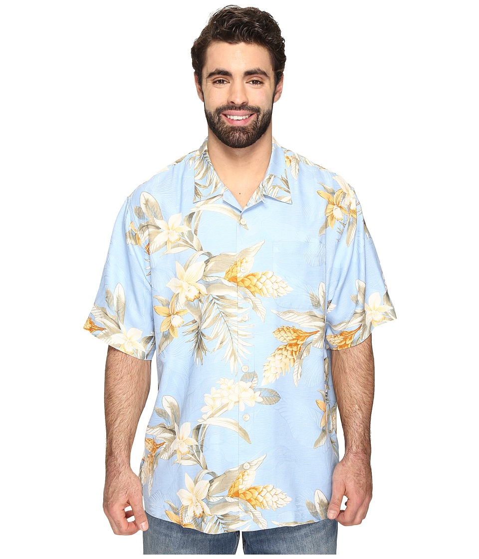Tommy Bahama Big & Tall - Big Tall Guava Garden (Polar Sky) Men's Clothing