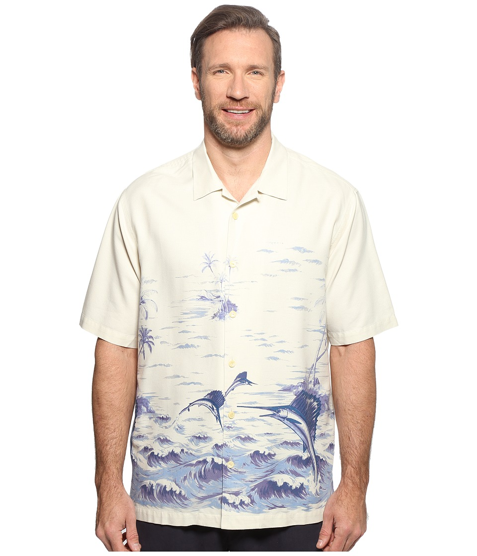 Tommy Bahama Big & Tall - Big Tall Santiago Sailfish (Cloud Cream) Men's Clothing