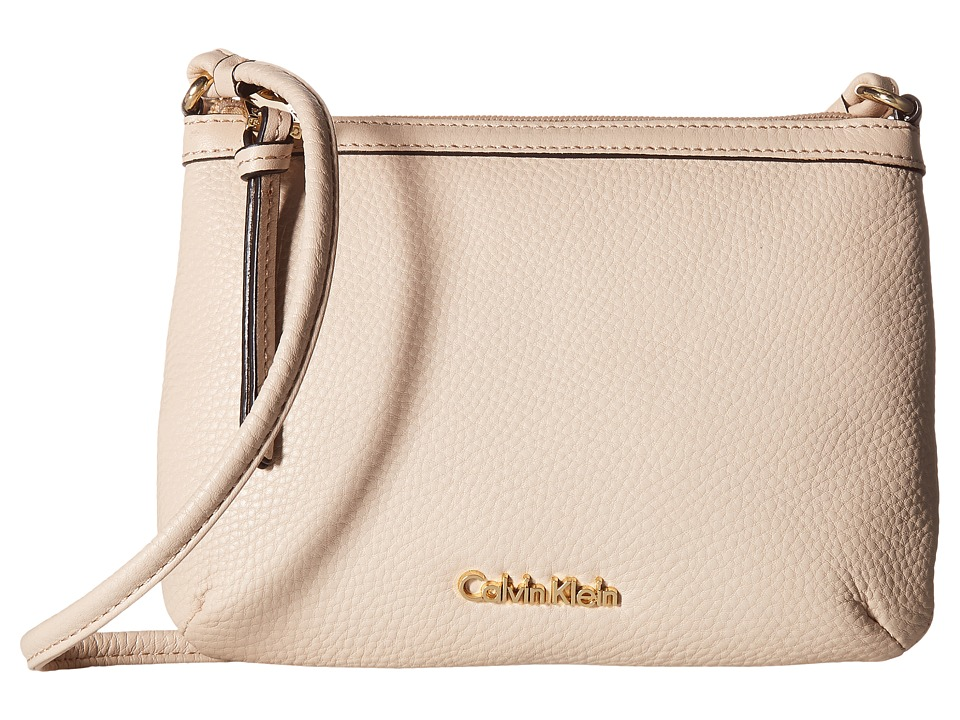 Calvin Klein - Pebble Crossbody (Wheat) Cross Body Handbags
