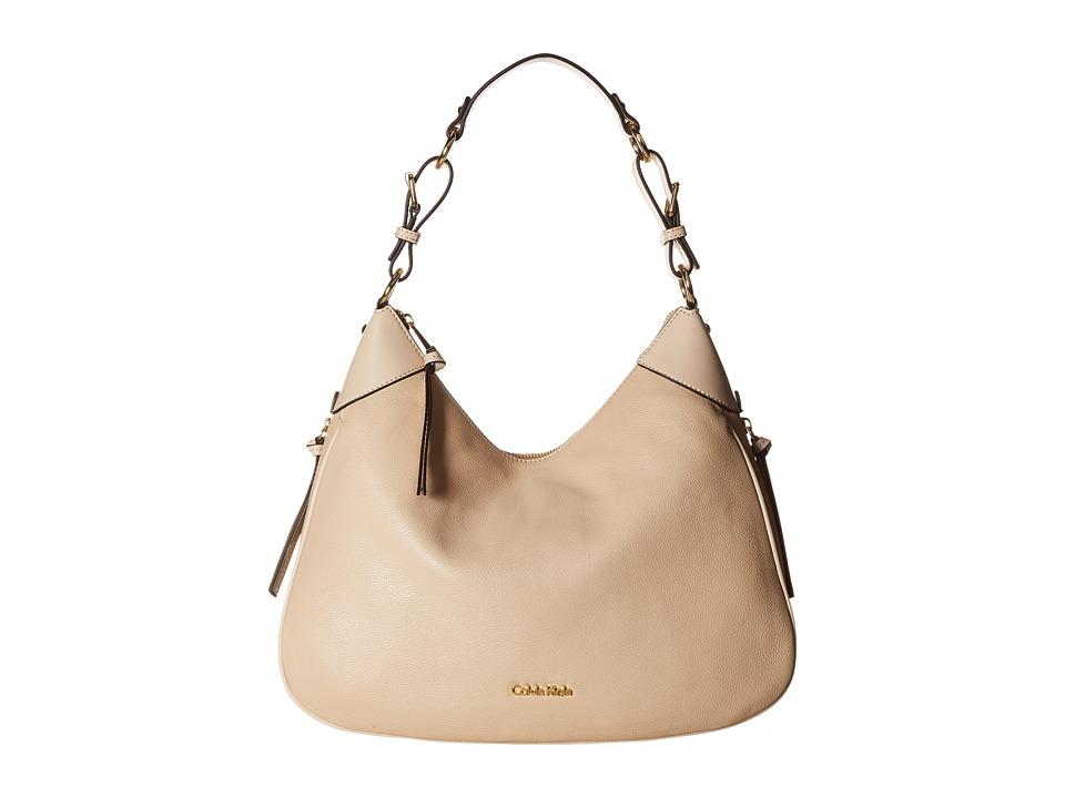 Calvin Klein - Classics Pebble Hobo (Wheat) Hobo Handbags