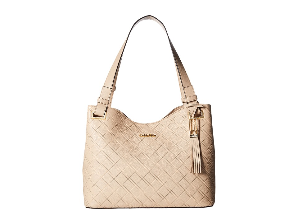 Calvin Klein - Permanent Pebble Shopper (Wheat) Handbags