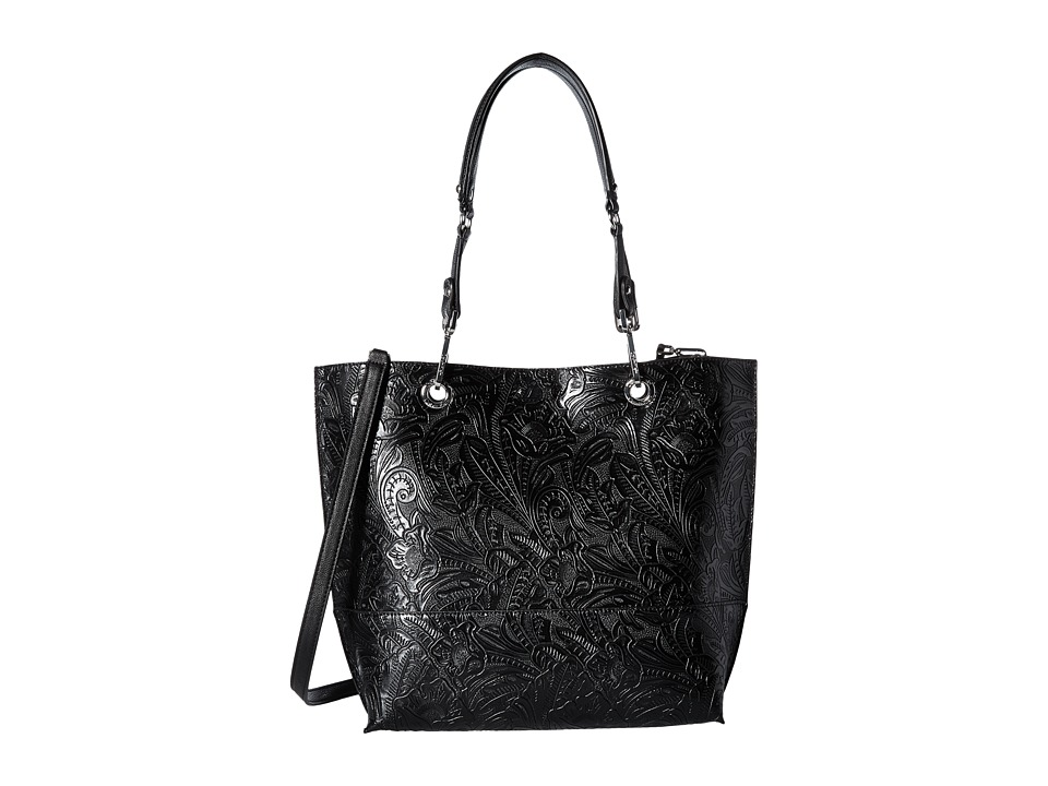Calvin Klein - Sonoma Tulling Tote (Black/Luggage) Tote Handbags