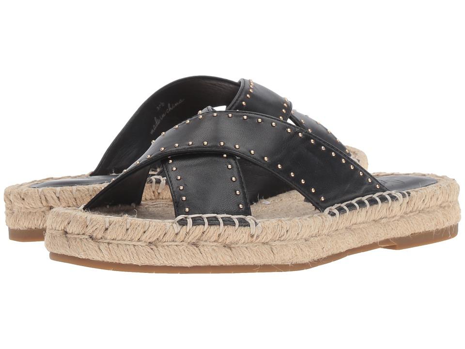 Joie - Idalee (Black Nappa/Mini Studs) Women's Sandals