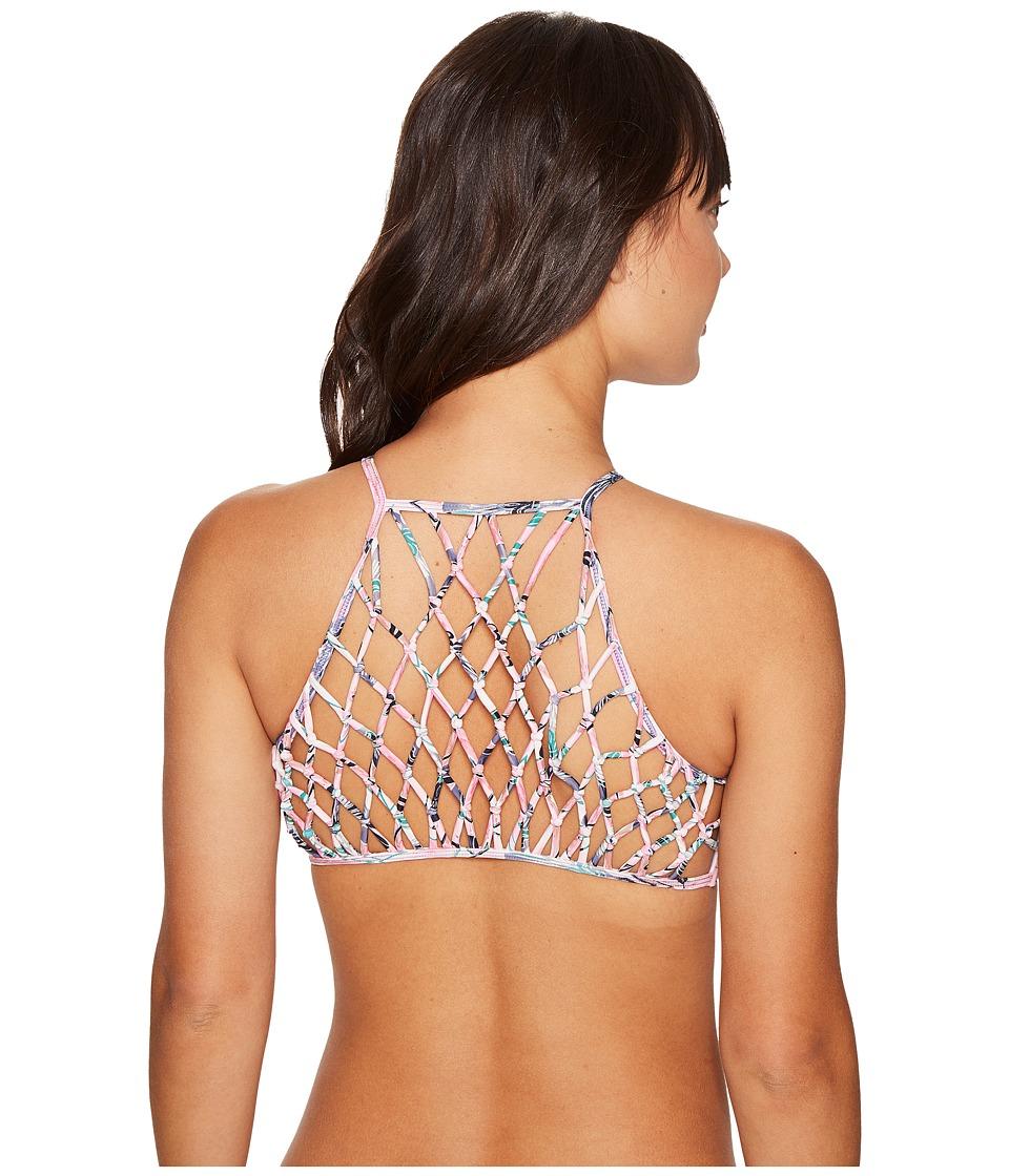 O'Neill - Starlis Macrame Halter Top (Multi) Women's Swimwear