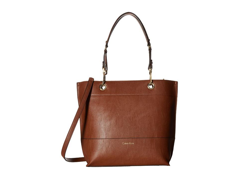 Calvin Klein - Sonoma Pebble PVC Tote (Luggage) Tote Handbags