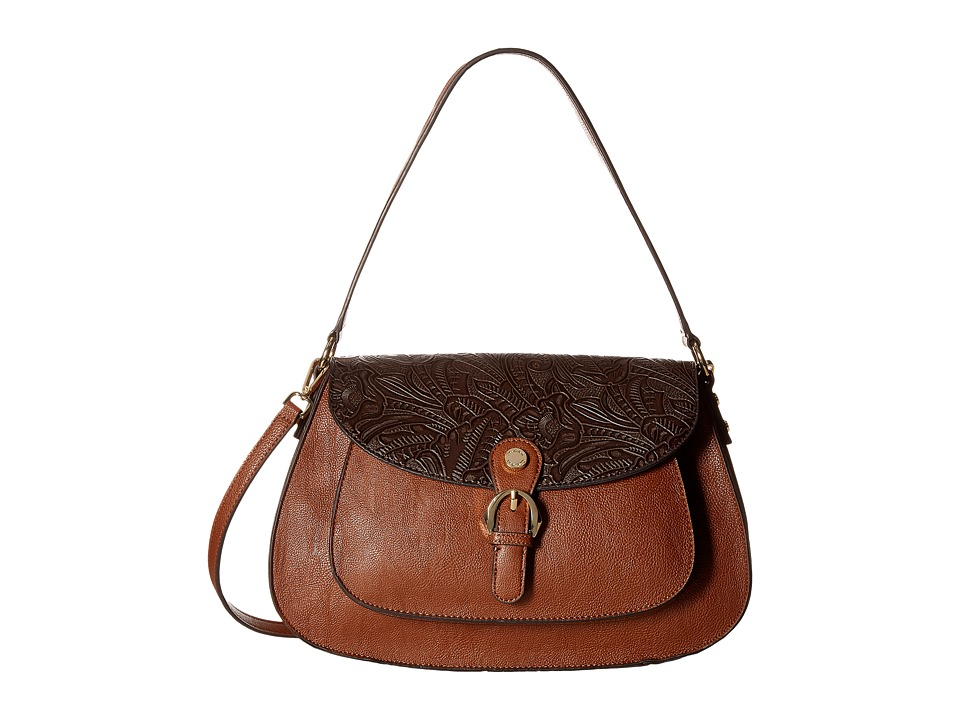 Calvin Klein - Corinna Jetlink/Tuled Hobo (Luggage) Hobo Handbags