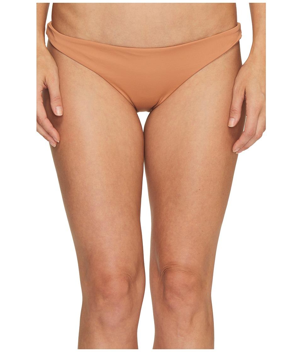 ONeill Malibu Solids Classic Cheeky Bottoms Honey Swimwear