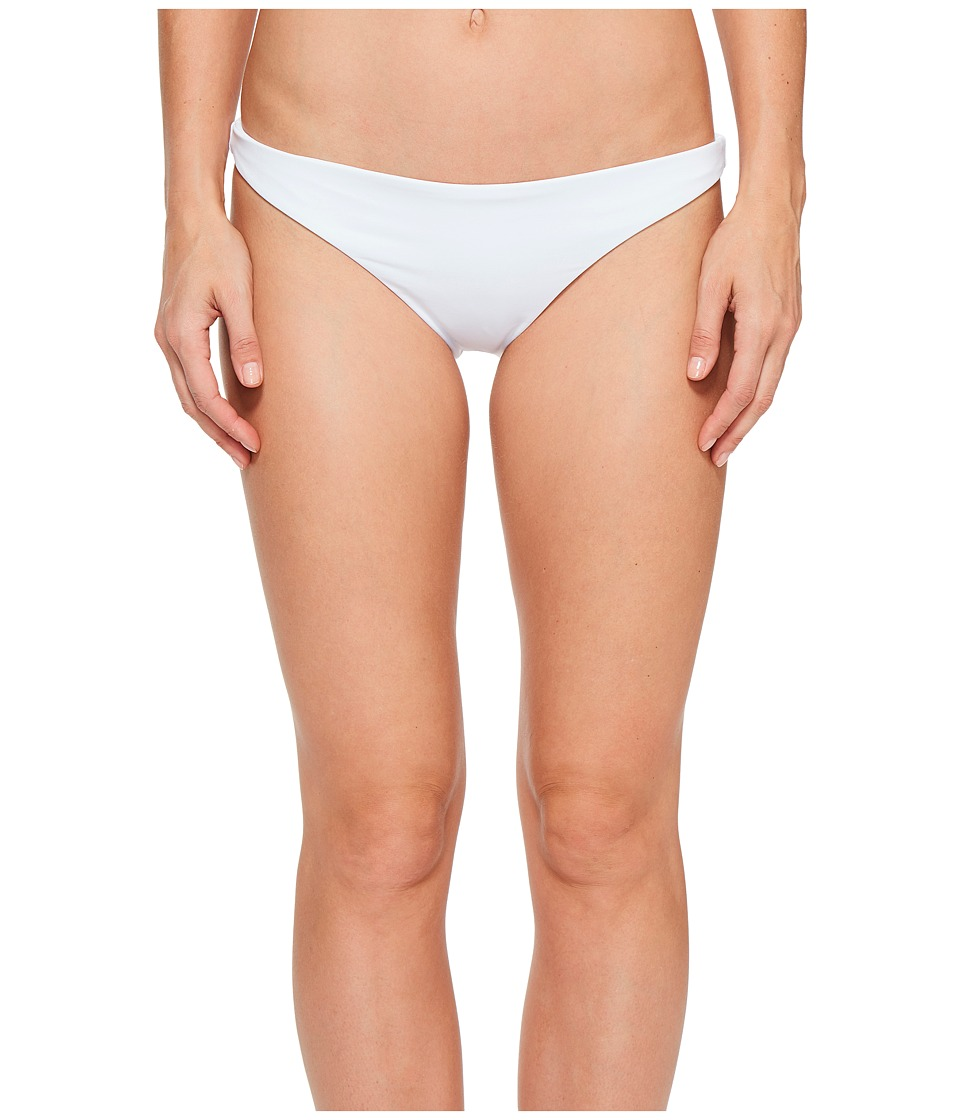 O'Neill - Malibu Solids Classic Cheeky Bottoms (White) Women's Swimwear